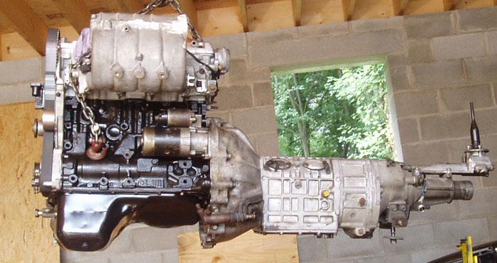 km132 transmission parts
